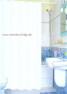 Textil zuhanyfüggöny 140x200 cm fehér