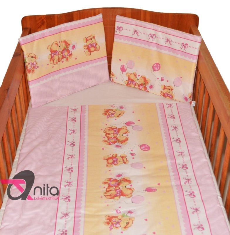 Baba ágyneműhuzat 425 rózsaszín
