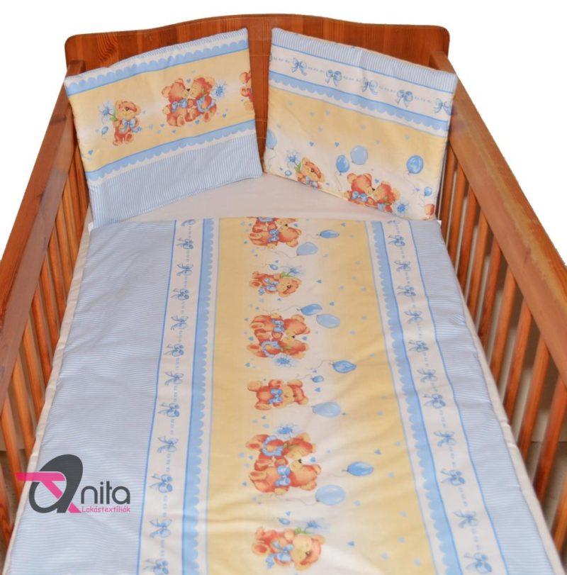 Baba ágyneműhuzat 425 kék