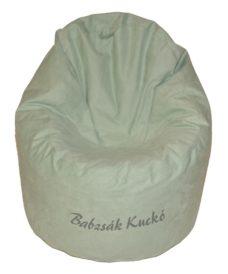 Kagyló alakú babzsákfotel ANU 13 zöld
