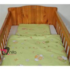 2 részes babaágynemű nagy paplannal /ovis ágynemű/ 1826 rózsaszín