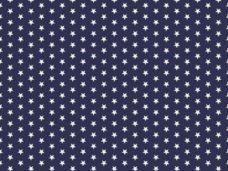 Csillag mintás pamutvászon 12541. sötétkék