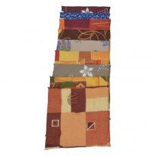 Ülőpárna 33 x 33 x 2 cm négyzet vegyes mintákkal 30 darab/csomag